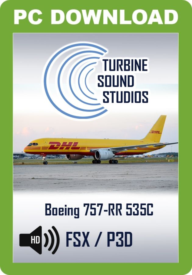 TSS Boeing 757 RB211-535C Pilot Edition Sound Package - Just Flight