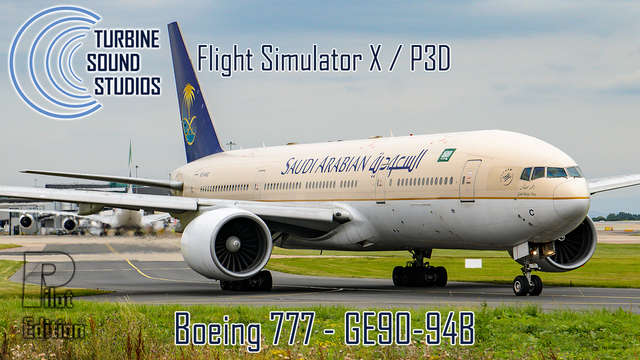 TSS Boeing 777 GE-90-94B Pilot Edition Sound Package