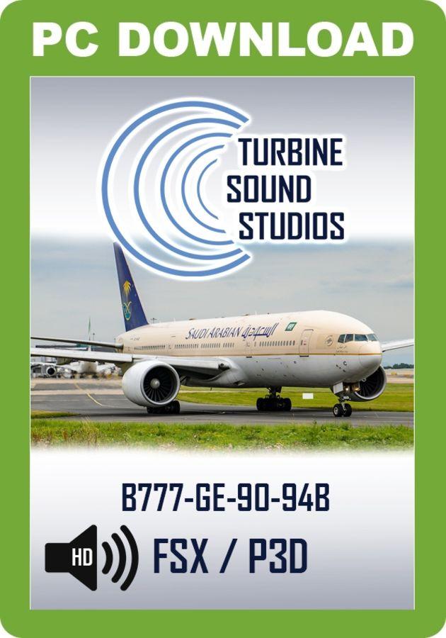 TSS Boeing 777 GE-90-94B Pilot Edition Sound Package - Just Flight
