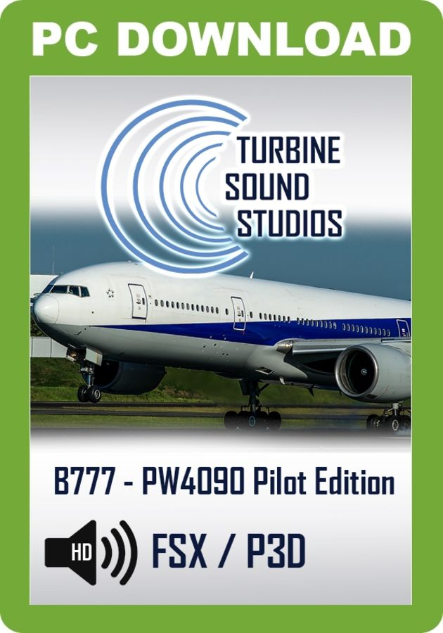 Just Flight - TSS Boeing 777 PW-4090 Pilot Edition Sound Package