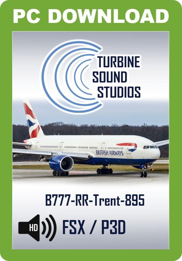 Just Flight - TSS Boeing 777 Rolls-Royce Trent 895 Pilot