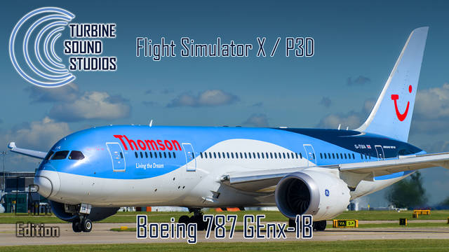 TSS Boeing 787 GEnx Pilot Edition Sound Package