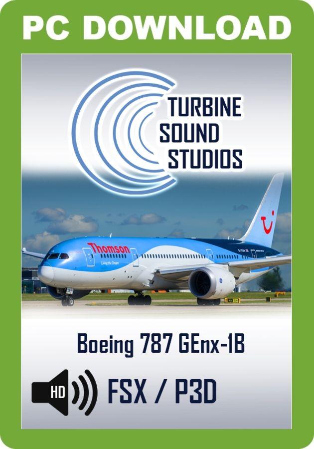 Just Flight - TSS Boeing 787 GEnx Pilot Edition Sound Package