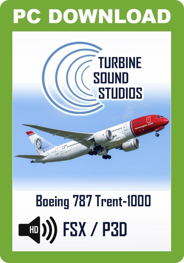 Just Flight - TSS Boeing 787 Trent 1000 Pilot Edition Sound