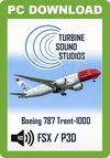 TSS Boeing 787 Trent 1000 Pilot Edition Sound Package