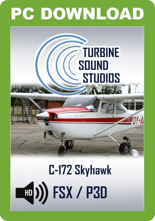 Just Flight - TSS Cessna 172H Skyhawk Pilot Edition Sound