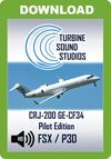 TSS CRJ-200 GE-CF34 Pilot Edition Sound Package