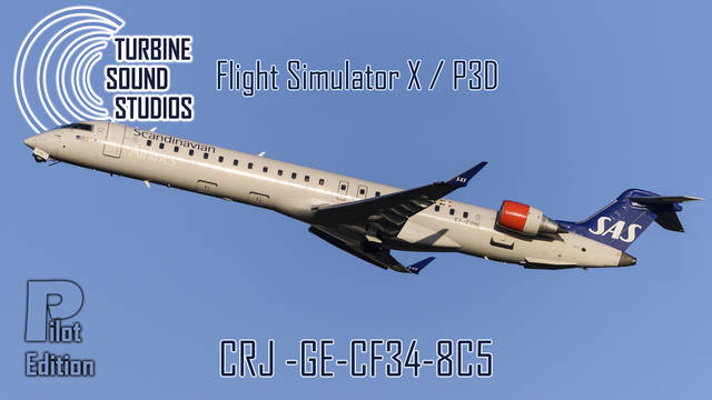 TSS CRJ GE-CF34-8C5 Pilot Edition Sound Package