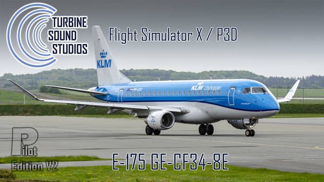 TSS Embraer 175 GE-CF34-8E Pilot Edition v2 Sound Package