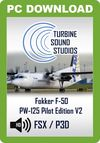 TSS Fokker F-50 PW-125 Pilot Edition Sound Package