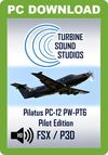 TSS Pilatus PC-12 PT-6 Pilot Edition Sound Package