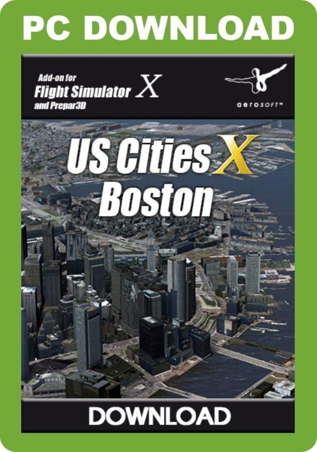 aerosoft us cities boston