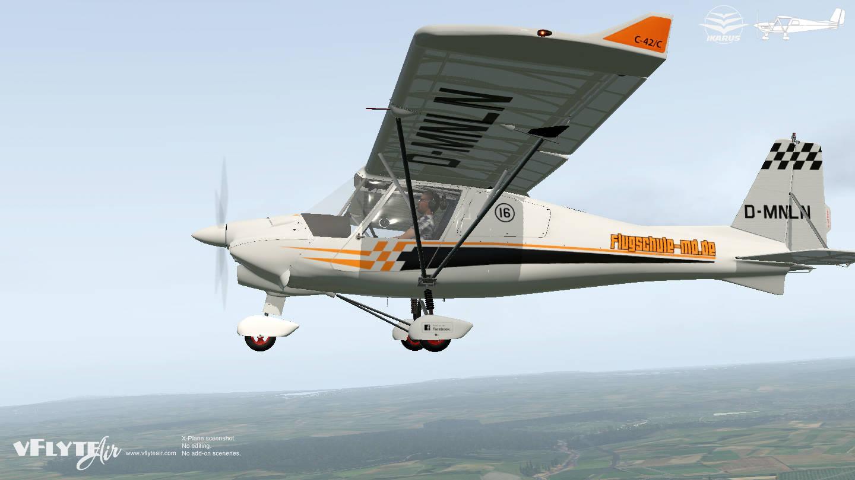 Just Flight - vFlyteAir Ikarus C42C