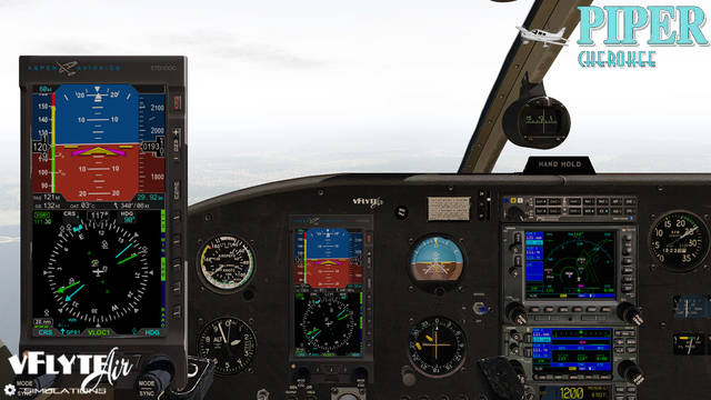 Just Flight - vFlyteAir Piper Cherokee 140 'Glass Panel' Version