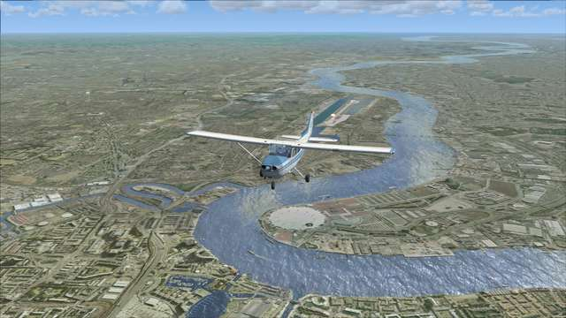 VFR Real Scenery Vol. 1 - SE England (Download)