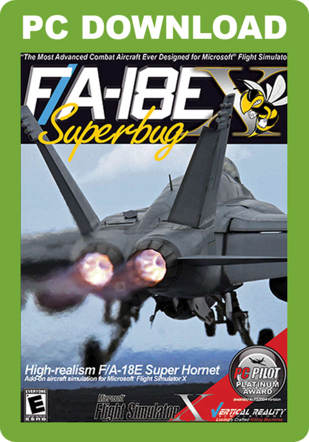 Just Flight - VRS F/A-18E Superbug X