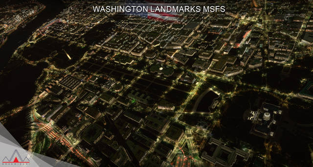 Washington Landmarks MSFS