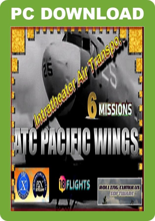 Just Flight - WW2 ATC Pacific Wings - Intratheatre Air Transport